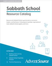 Adult Sabbath School Catalog