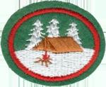 Hoja de trabajo de la especialidad de Campamento en invierno