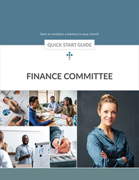 Finance Committee Quick Start Guide