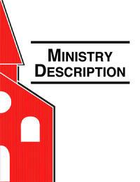 Health Ministries Leader Ministry Description