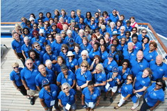 Some 180 adults from across the North American Division (NAD) (including two from Australia) sailed from Fort Lauderdale, Fla., to the Bahamas.