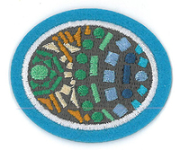 Hoja de trabajo de la especialidad de Azulejos de mosaico