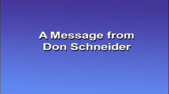 Don Schneider Greeting