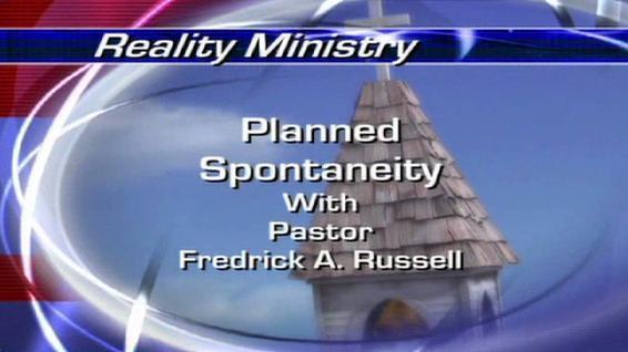 Planned Spontaneity