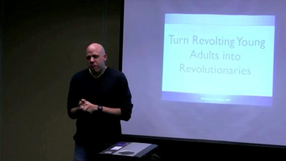 Matthew Gamble - Turning Revolting Young Adults into Revolutionaries