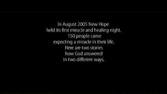 Miracle and Healing