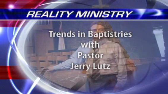 Trends in Baptistries